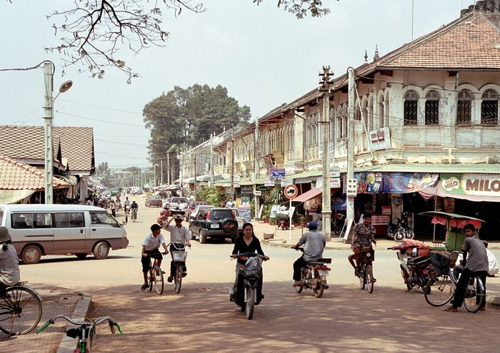 downtown siemreap