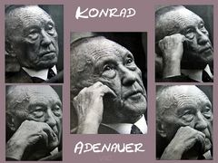 Dr. Konrad Adenauer unser 1. Bundeskanzler