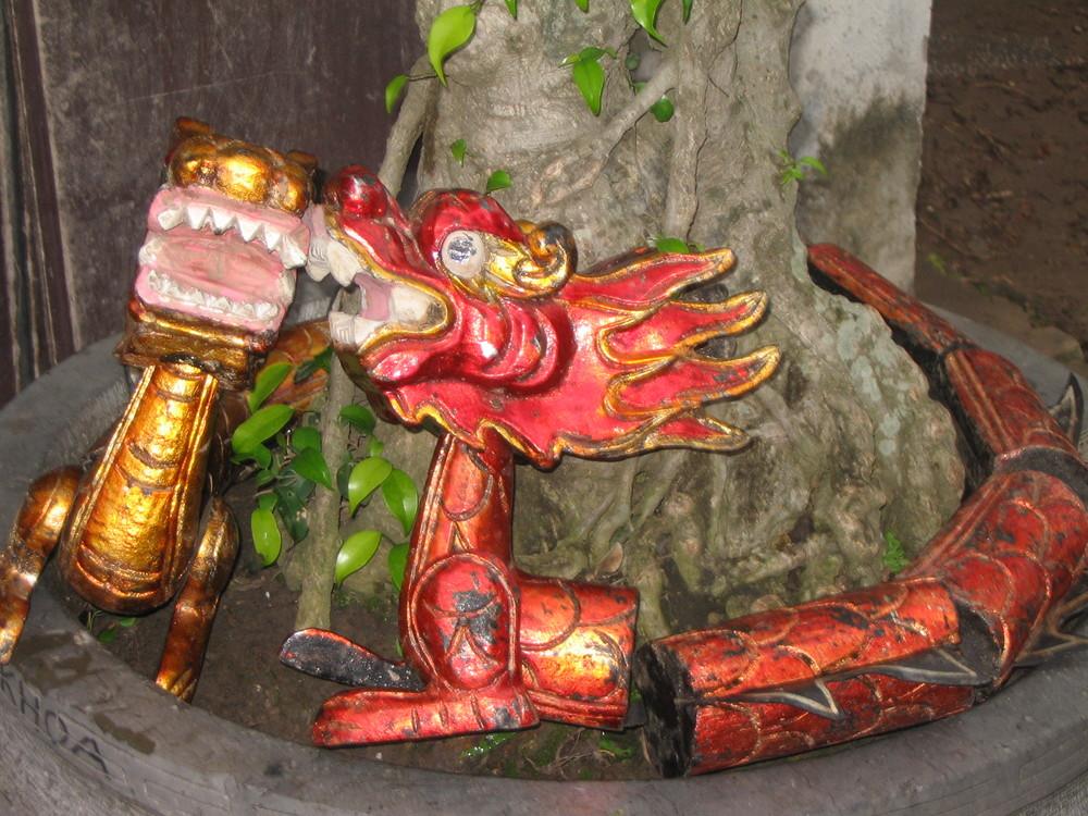 Drachen in Hanoi
