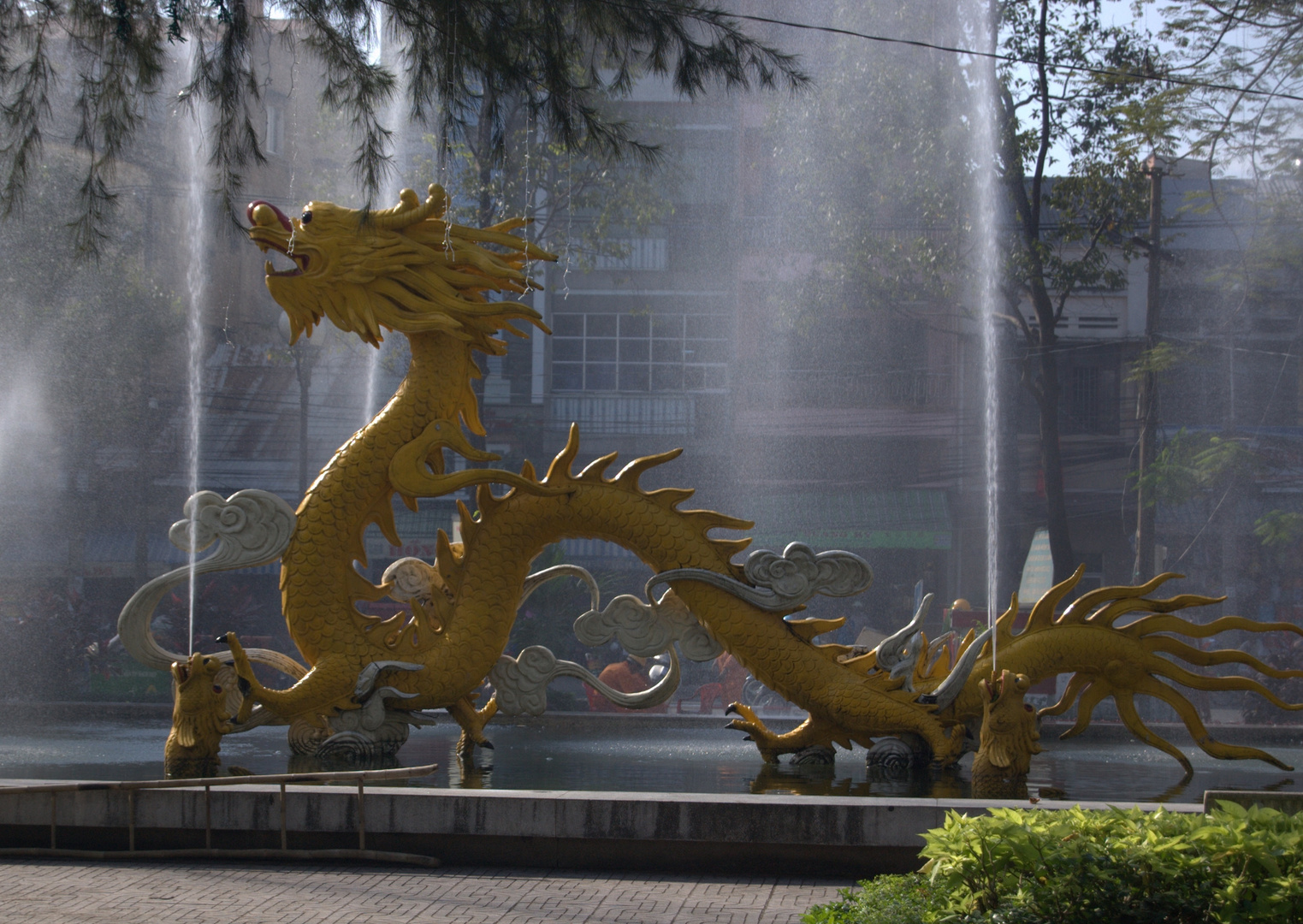 Drachen in Ho-Chi-Minh-Stadt