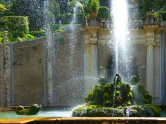 Drachenbrunnen von unten
