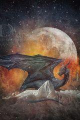 dragon and stars