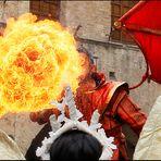 """Dragonheart (6 di 9) - Il gran colpo della """"Rosa di Fuoco"""" ..."""