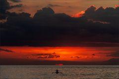 * * Dramatic sunset II *