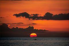 * * Dramatic sunset IV *