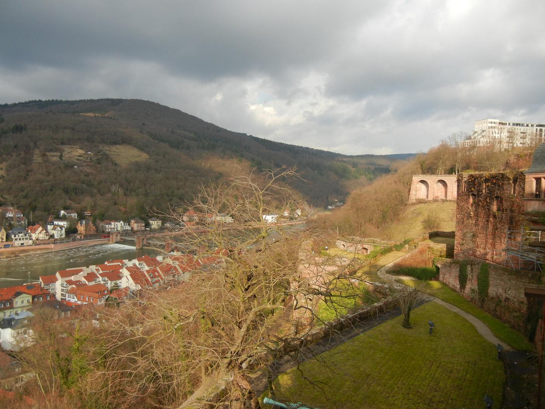 Dramatischer Himmel - Heidelberger Schloß