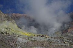 Dramatischer Vulkan