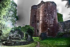 Dramatisches Schloss Neudahn