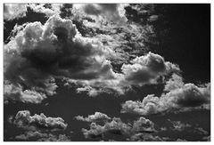 Dramatisches Wolkenschauspiel