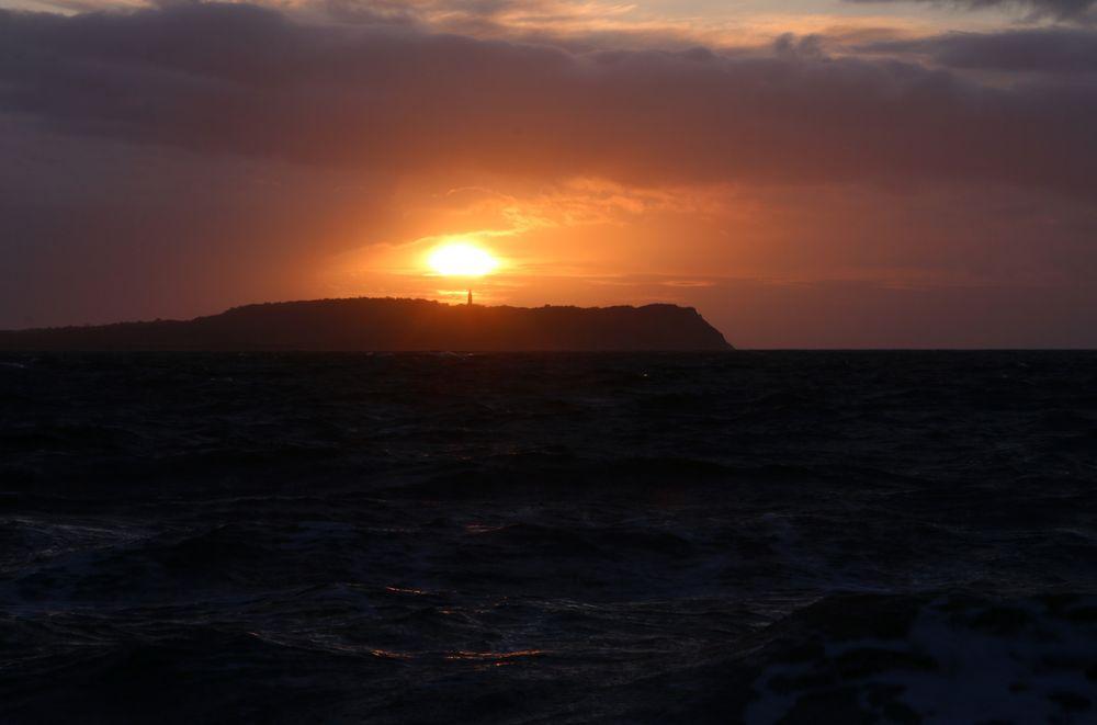 Dranske 'r sunset