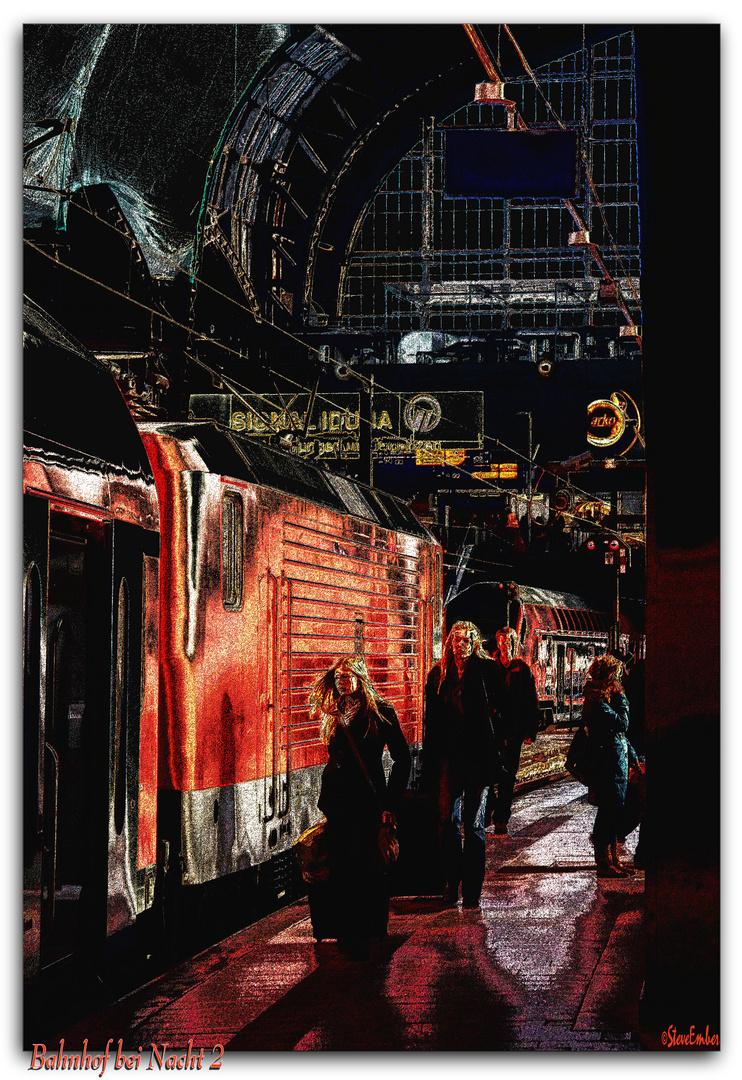 Dreamscape - Bahnhof bei Nacht - 2