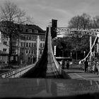 Drehbrücke am Schokomuseum - Köln