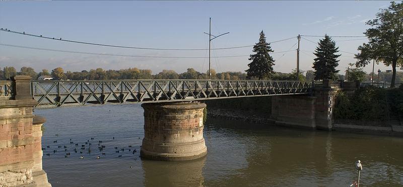 Drehbrücke am Winterhafen