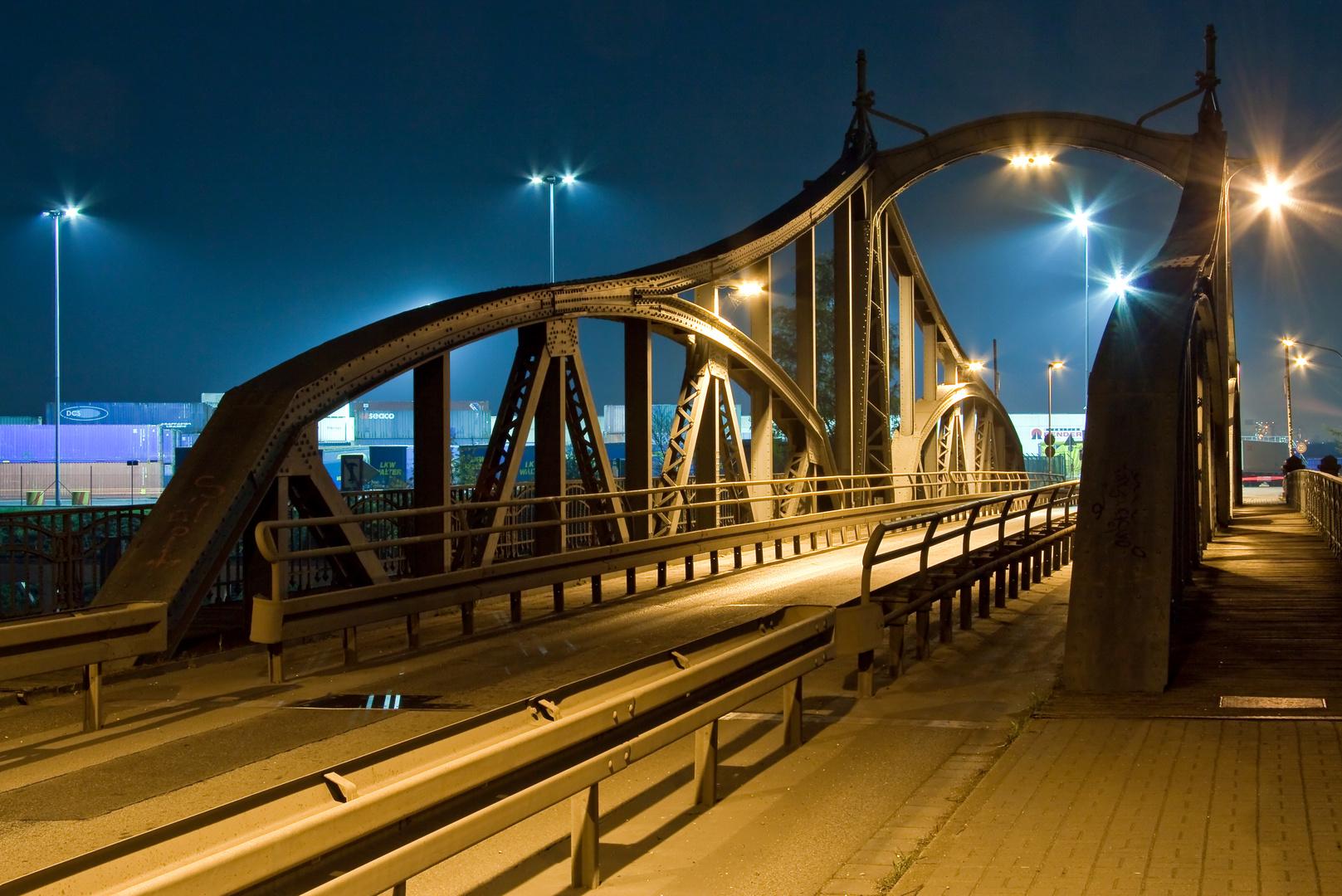 Drehbrücke Hafenstraße Krefeld