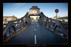 Drehbrücke in Deutz
