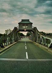 Drehbrücke in Köln-Deutz