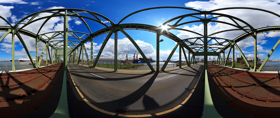 Drehbrücke Nordschleuse
