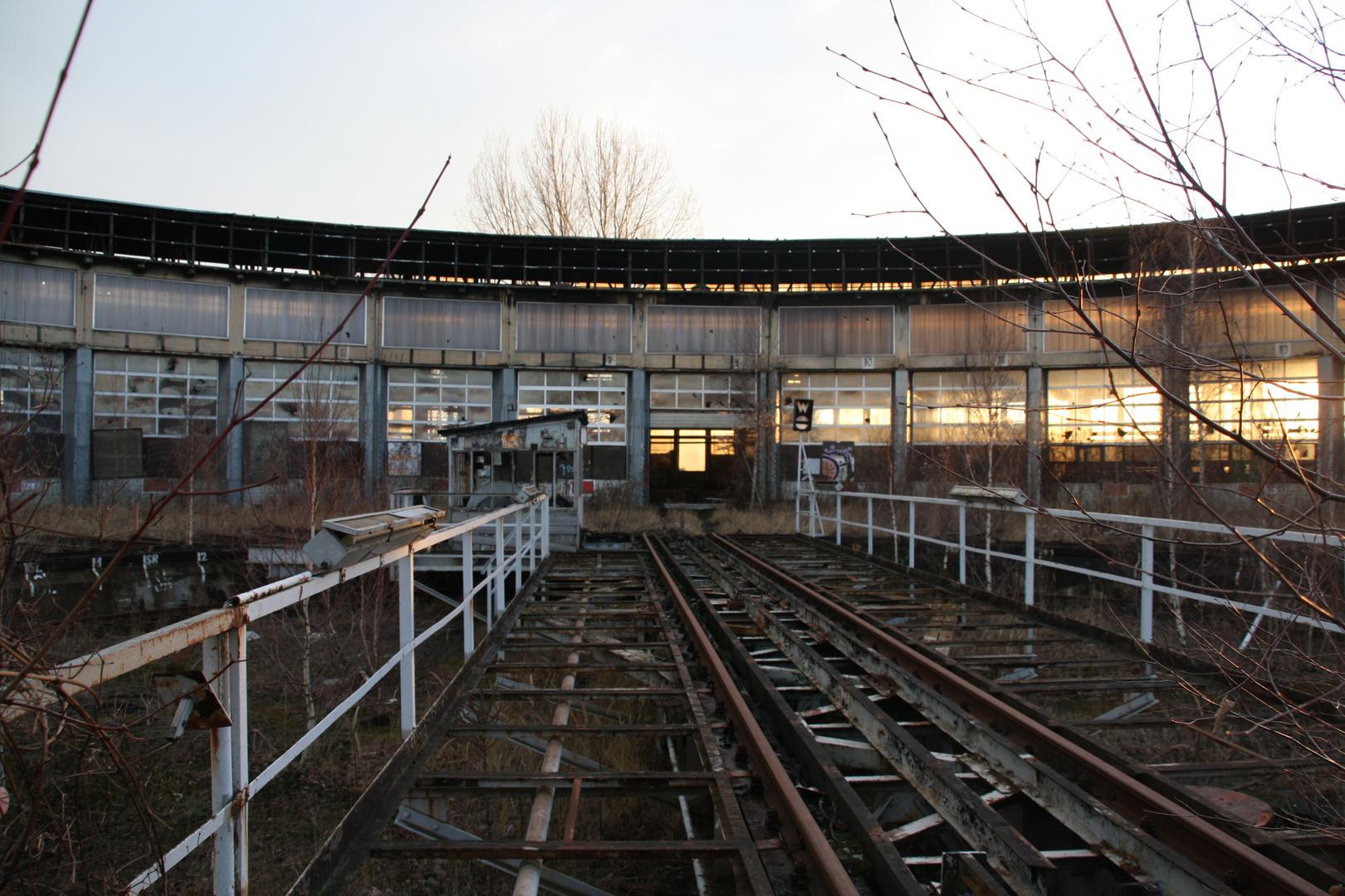 Drehscheibe - ehemaliger Rangierbahnhof Halberstadt