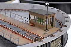Drehscheibe für Lokomotiven  -  1:32