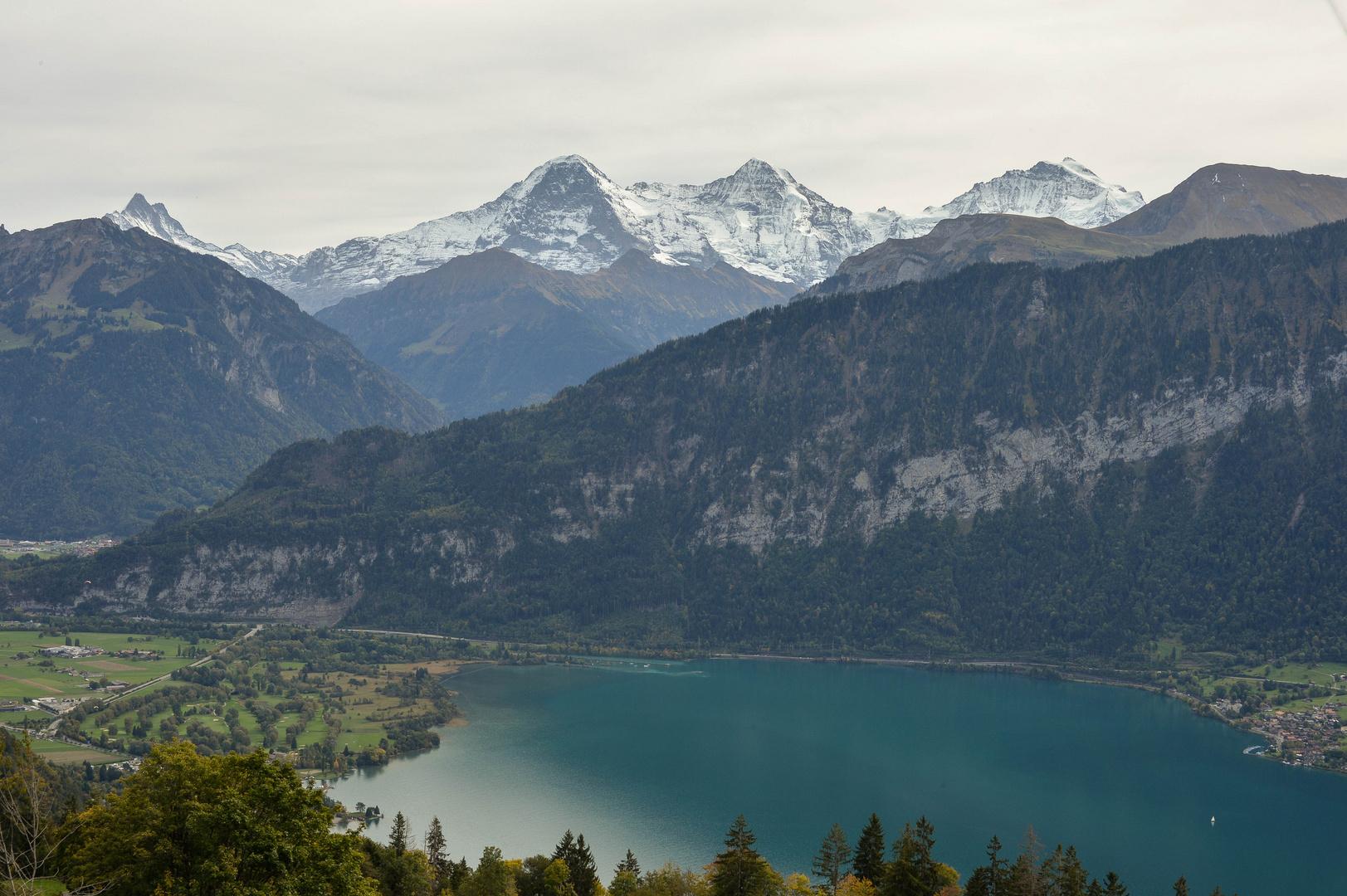 Drei bekannte Berge