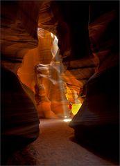 drei erscheinungen im canyon
