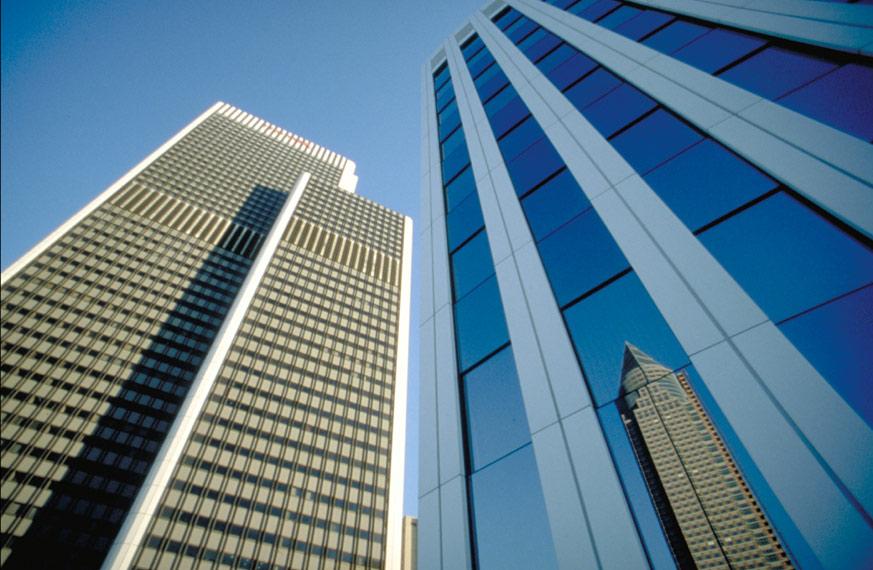Drei Frankfurter Hochhäuser