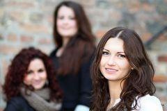 Drei Freundinnen...