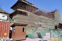 Drei Jahre nach dem Erdbeben auf dem Durbar Square (1)
