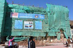 Drei Jahre nach dem Erdbeben auf dem Durbar Square (2)