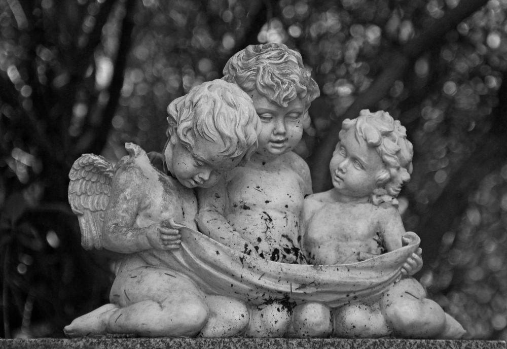Drei kleine Engel