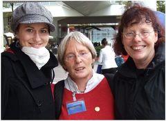 """Drei """"Mädels"""" auf der Frankfurter Buchmesse"""