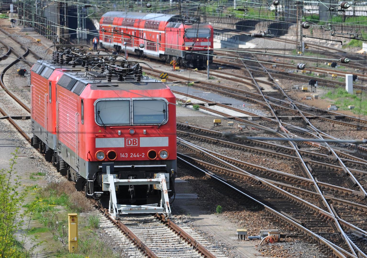Drei mal Baureihe 143
