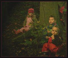 Drei Menschlein im Walde,,,
