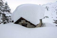Drei Meter Schnee