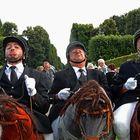 Drei Reiter auf dem Stecken