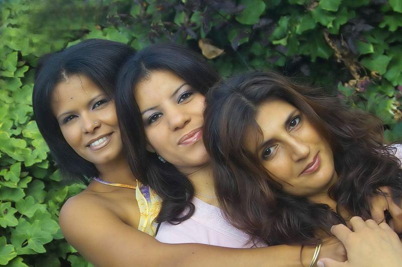 Drei schräge Gestalten :-)