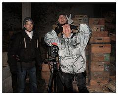 Drei Schrottrobber auf Frittenland-Tour ;-))