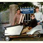 Drei stolze Autobauer