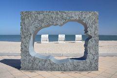 Drei Strandkörbe auf Föhr
