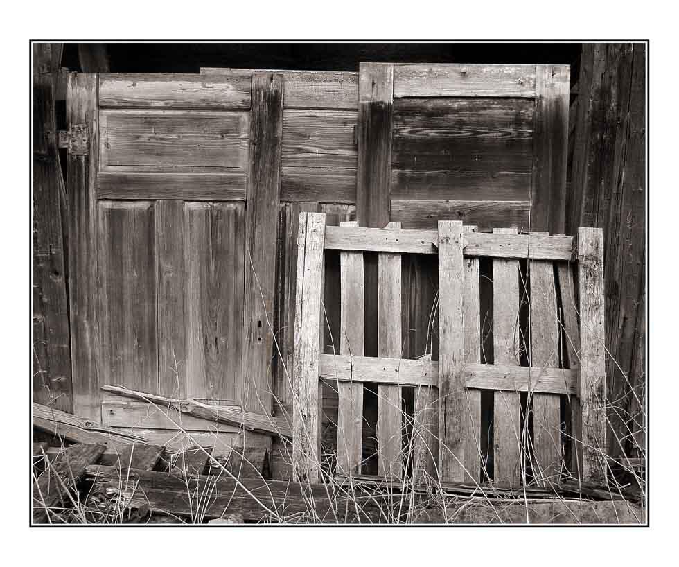 Drei Türen und eine unnötige Palette