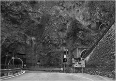 Drei-Tunnel-Fahrt