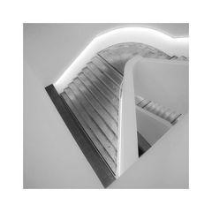 Dreiecke im Treppenhaus