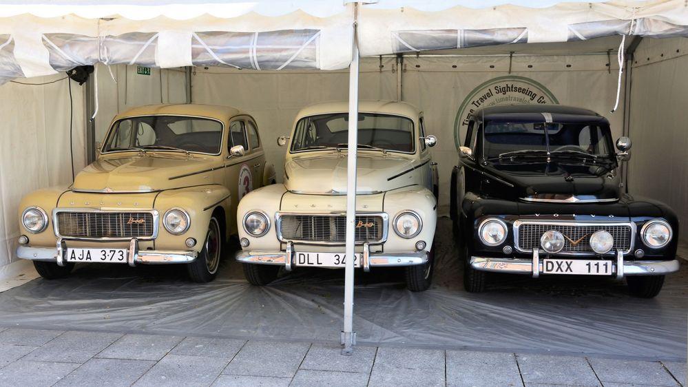 Dreierlei Volvo