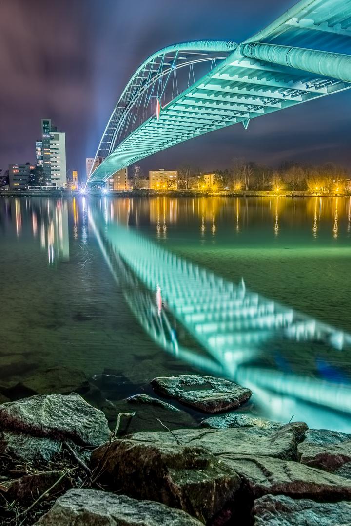 Dreiländerbrücke Weil am Rhein Foto & Bild | deutschland