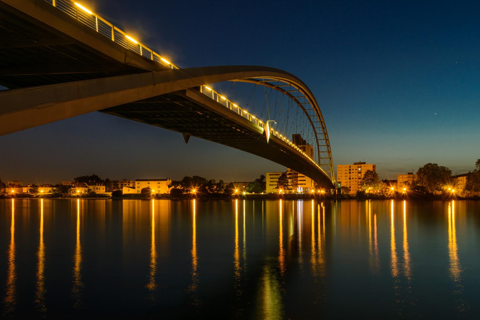 Dreiländerbrücke Weil am Rhein - Huningue Foto & Bild