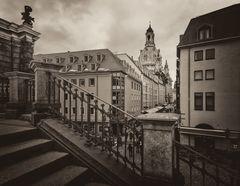 Dresden... #11 - Blick auf die Münzgasse