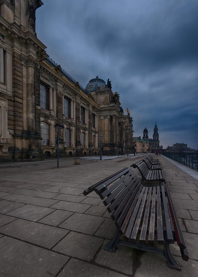 Dresden... #12 - Auf der Brühlschen Terrasse