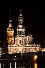 Dresden... #17 - Hofkirche bei Nacht