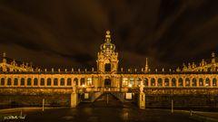 Dresden am Abend - Der Zwinger