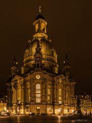 Dresden am Abend - Frauenkirche